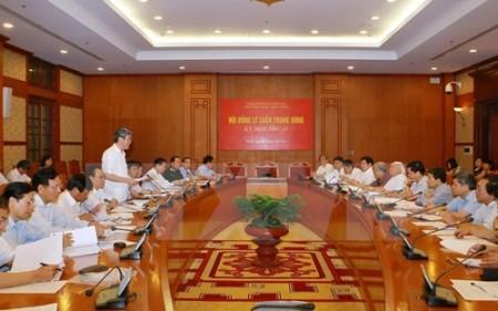 15. Sitzung des Zentralrates für Theorie - ảnh 1