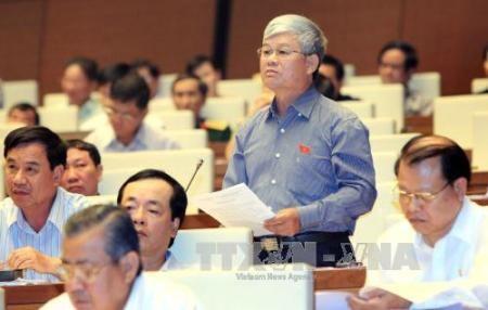 Abgeordnete diskutieren den geänderten Gesetzentwurf für Staatsrechnung - ảnh 1