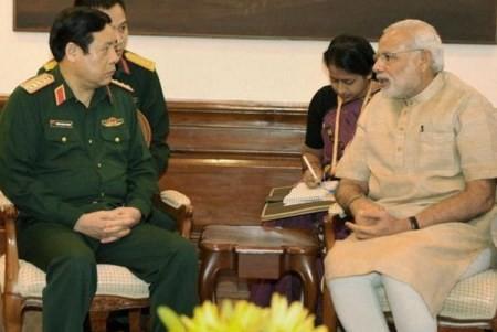 Die strategische Partnerschaft zwischen Indien und Vietnam entwickelt sich stark - ảnh 1
