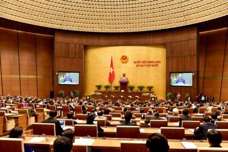 Abgeordnete hören Bericht über die Umsetzung des Staatshaushaltes im Jahr 2015 zu - ảnh 1