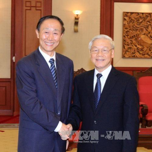 Delegation der KP Chinas besucht Vietnam - ảnh 1