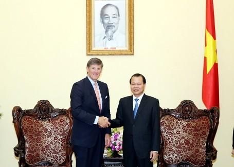 Vize-Premierminister Vu Van Ninh trifft Generaldirektor von Citigroup - ảnh 1