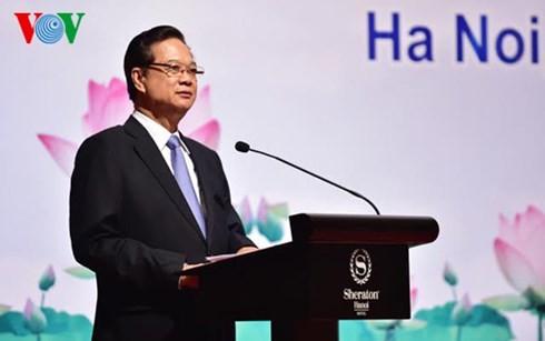 Premierminister Nguyen Tan Dung: Vietnam setzt sich aktiv für ASEAN-Vision 2025 ein - ảnh 1