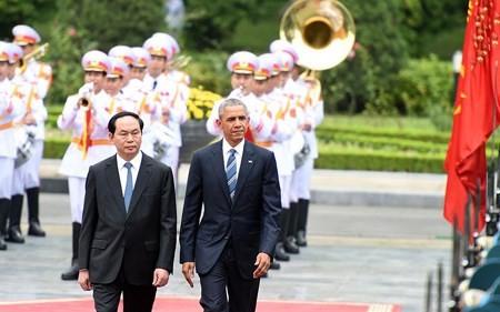 Internationale Medien berichten über Vietnam-Besuch von US-Präsident Obama - ảnh 1