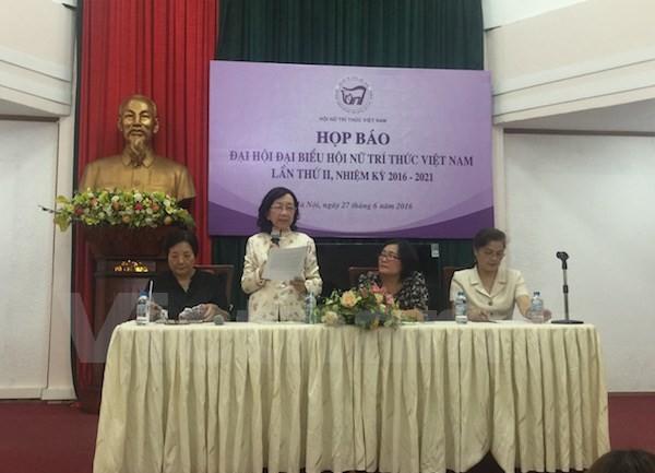 Konferenz des Verbands der weiblichen vietnamesischen Intellektuellen - ảnh 1