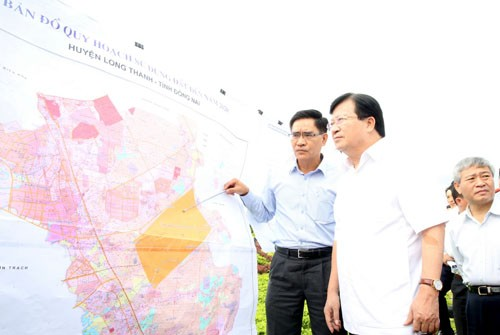 Der Bau des Flughafens Long Thanh soll im Jahr 2019 beginnen - ảnh 1
