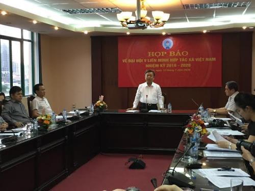 5. Konferenz der vietnamesischen Genossenschaftsunion wird am 17. Juli eröffnet - ảnh 1