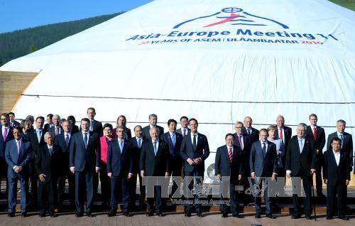 ASEM-Gipfel in der Mongolei geht zu Ende - ảnh 1