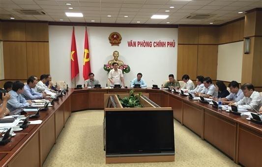 Vize-Premierminister Vuong Dinh Hue leitet Sitzung über die nachhaltige Armutsminderung - ảnh 1