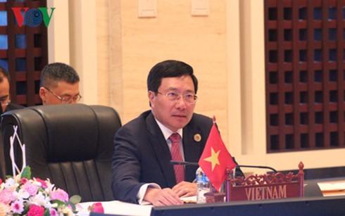 Konferenz der Außenminister der Mekong-Länder und Südkoreas - ảnh 1