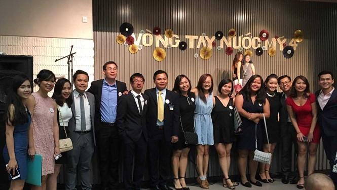 Vietnamesische Studenten in den USA richten ihre Aufmerksamkeit auf das Heimatland - ảnh 1
