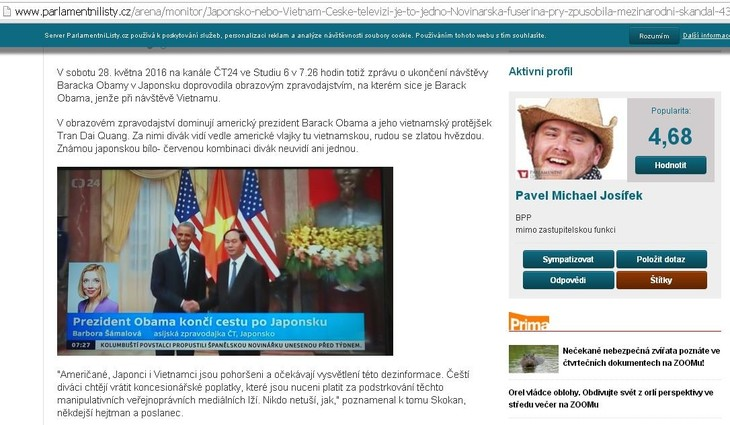 Tschechische Zeitung lobt Erfolge der Erneuerung in Vietnam - ảnh 1