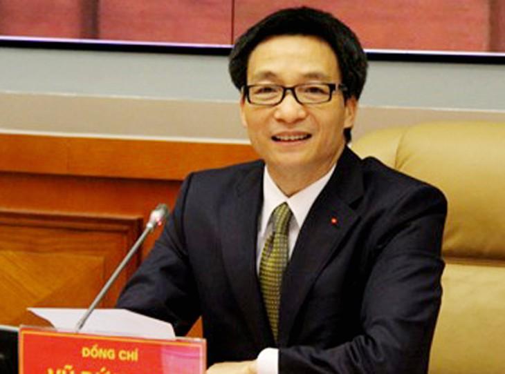 Vize-Premierminister Vu Duc Dam überprüft die Garatie der Lebensmittelsicherheit in Bac Ninh  - ảnh 1