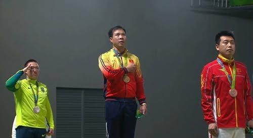 Luftpistolenschütze Hoang Xuan Vinh – der Stolz des vietnamesischen Sports - ảnh 1