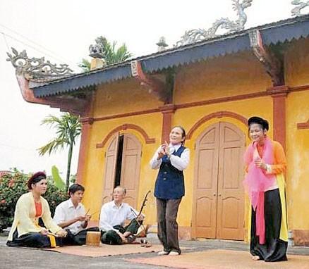 Cheo-Klub im Dorf Khuoc - ảnh 1