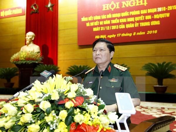 Hochrangige Militärdelegation Vietnams besucht China - ảnh 1