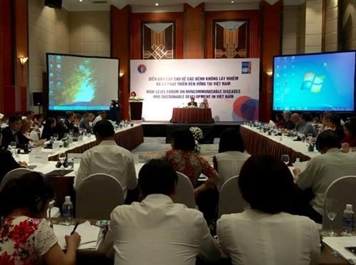 Hochrangiges Forum über nichtübertragbare Krankheiten in Vietnam - ảnh 1