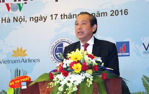 Gründung des Verbands für internationales Recht Vietnam - ảnh 1