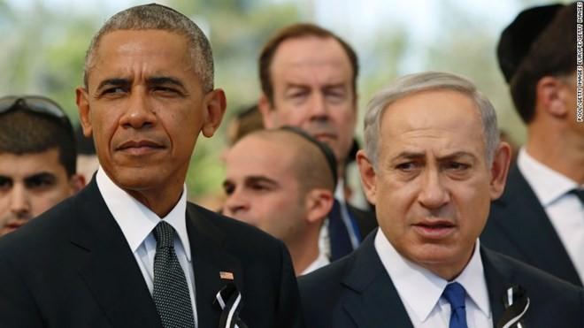 Weltspitzenpolitiker nehmen an Trauerfeier des ehemaligen israelischen Präsidenten Shimon Peres teil - ảnh 1