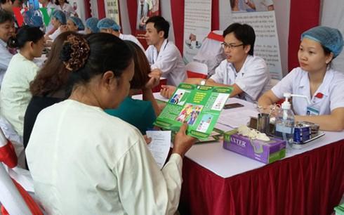 Veranstaltung zum Weltdiabetestag - ảnh 1