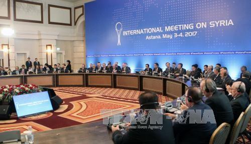 Eröffnung der 7. Runde der Syrien-Friedensverhandlungen in Genf - ảnh 1