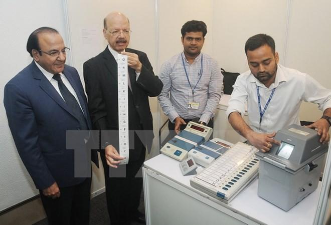 Präsidentschaftswahl in Indien beginnt - ảnh 1