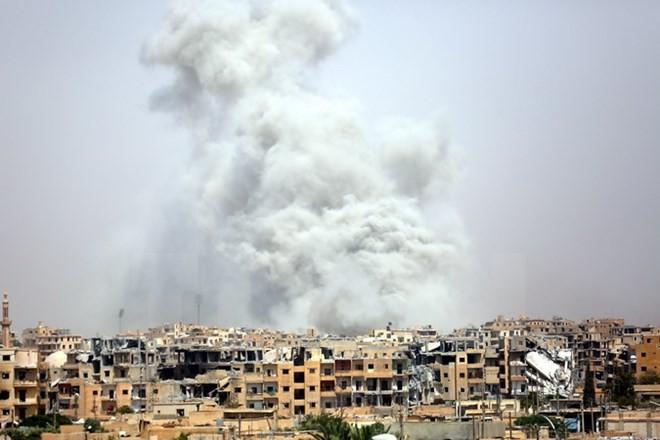 Terrorkampf: SDF melden Eroberung der Altstadt von Rakka - ảnh 1