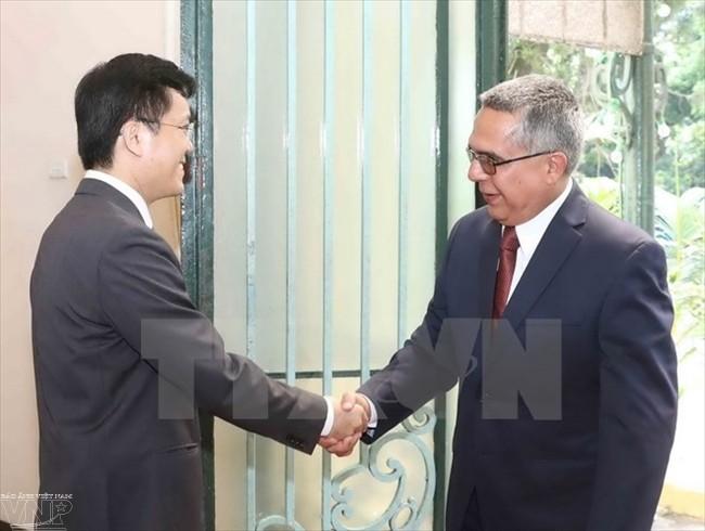 4. Politische Konsultation auf Vize-Außenministerebene zwischen Kuba und Vietnam - ảnh 1