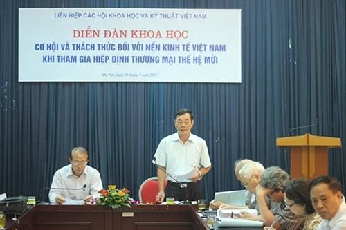 Chancen und Herausforderungen der vietnamesischen Wirtschaft beim FTA-Beitritt - ảnh 1