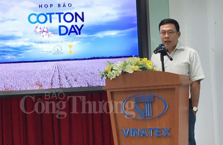 """Erstmals wird der Festtag """"Cotton Day"""" in Vietnam veranstaltet - ảnh 1"""