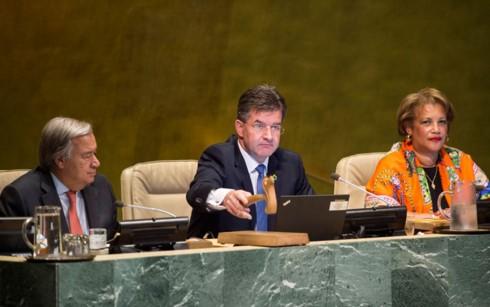 Eröffnung der 72. Sitzung der UN-Vollversammlung - ảnh 1
