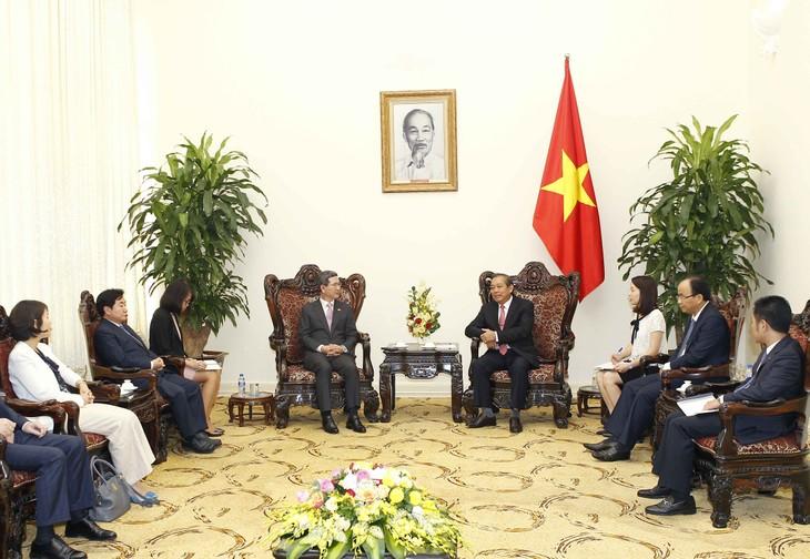 Vietnams Regierung legt großen Wert auf die Entwicklung der strategischen Partnerschaft mit Südkorea - ảnh 1