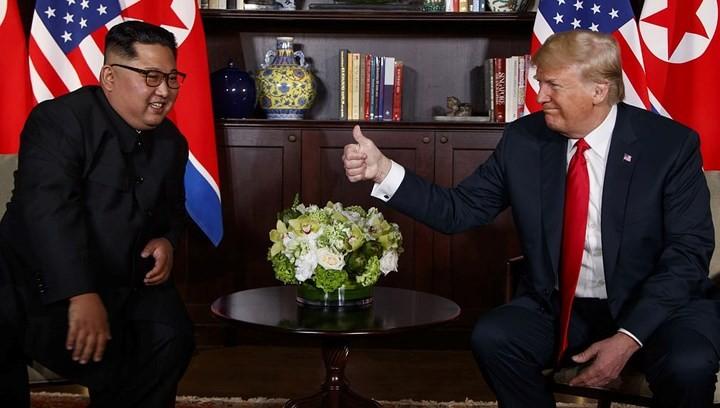 Beginn einer neuen Phase in den Beziehungen zwischen den USA und Nordkorea - ảnh 1