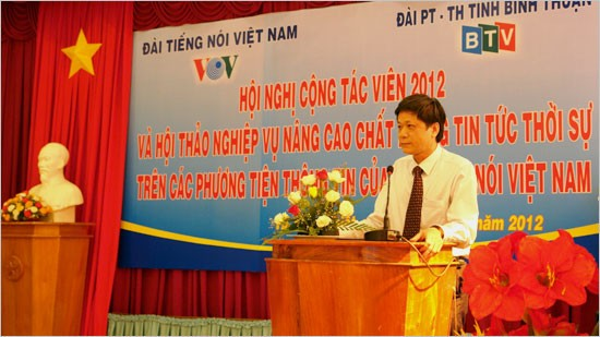 Hội nghị cộng tác viên Đài Tiếng Nói Việt Nam khu vực Đông Nam Bộ - ảnh 1