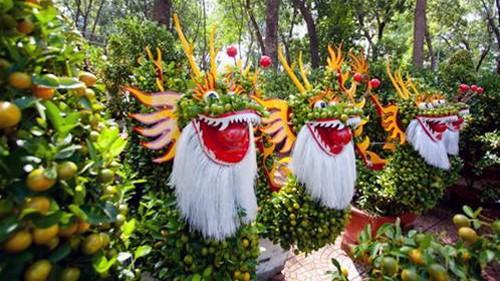 Khai mạc Chợ hoa Tết ở thành phố Hồ Chí Minh - ảnh 1
