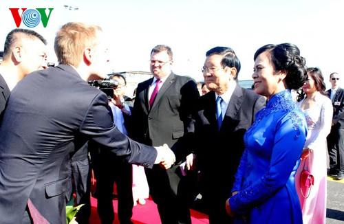 Chủ tịch nước Trương Tấn Sang thăm cấp Nhà nước tới Cộng hòa Séc - ảnh 1