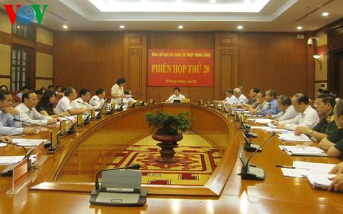 Chủ tịch nước Trương Tấn Sang chủ trì phiên họp thứ 20 Ban Chỉ đạo cải cách tư pháp Trung ương   - ảnh 1