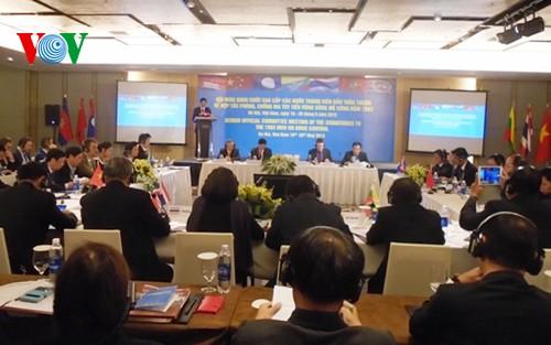 Các nước tiểu vùng sông Mê Công đấy mạnh công tác phòng, chống ma túy - ảnh 1