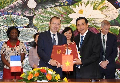 Pháp hỗ trợ Việt Nam ứng phó với biến đổi khí hậu - ảnh 1