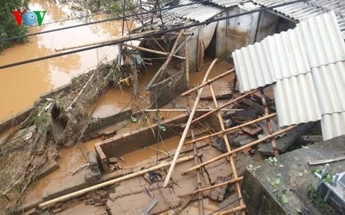 Hoàn lưu bão số 1 (Kujira) gây nhiều thiệt hại ở Sơn La và Lai Châu  - ảnh 1