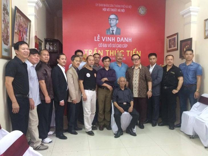 Lễ vinh danh cố đại võ sư Trần Thúc Tiển - ảnh 3