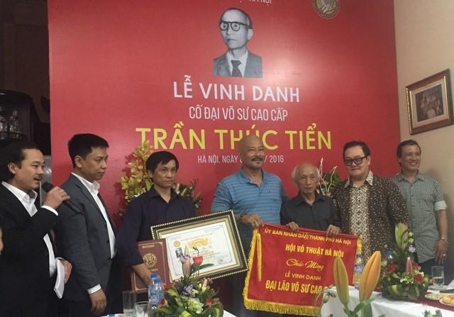 Lễ vinh danh cố đại võ sư Trần Thúc Tiển - ảnh 2