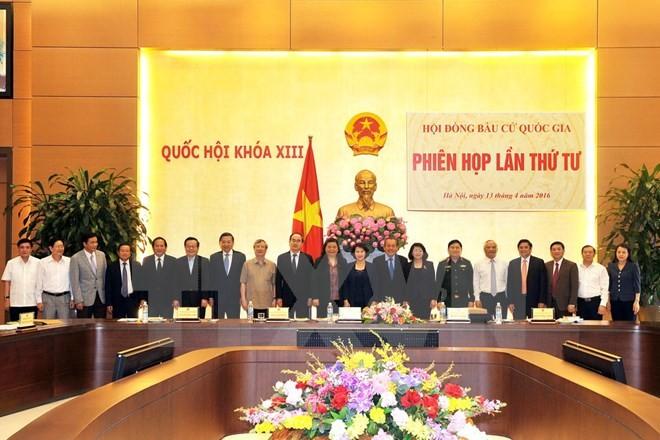 Hội đồng bầu cử quốc gia họp phiên thứ tư  - ảnh 2