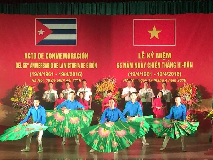 Việt Nam kỷ niệm 55 năm ngày chiến thắng Giron của Cuba  - ảnh 1