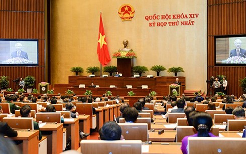Khai mạc kỳ họp đầu tiên Quốc hội khóa XIV - ảnh 1