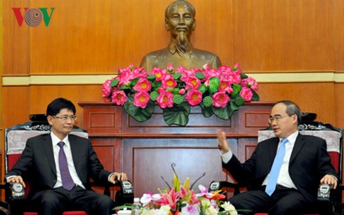 Thúc đẩy giao lưu, hợp tác giữa các tỉnh biên giới Việt Nam - Trung Quốc  - ảnh 1