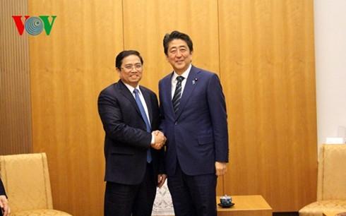 Nhật Bản sẽ tiếp tục dành ưu tiên cao cho quan hệ hợp tác toàn diện với Việt Nam - ảnh 1