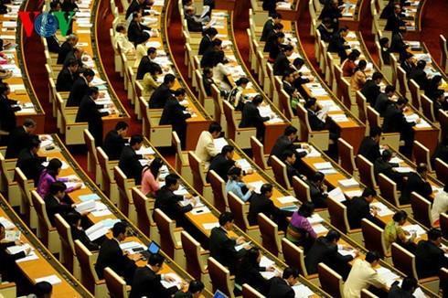Quốc hội nghe trình bày Tờ trình và Báo cáo thẩm tra các dự án luật - ảnh 1