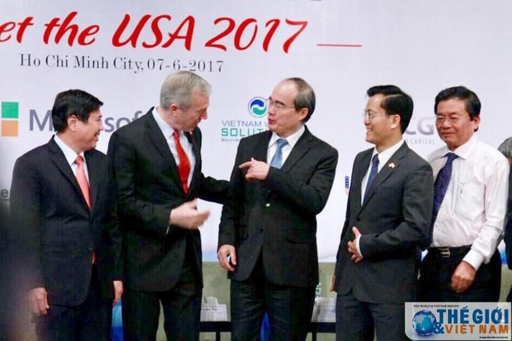 """Hội nghị """"Gặp gỡ Hoa Kỳ 2017"""" một lần nữa khẳng định mối quan hệ hợp tác toàn diện Việt Nam- Hoa Kỳ - ảnh 1"""