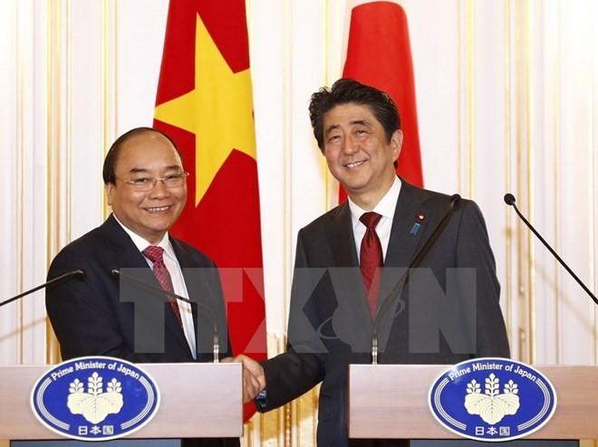 Báo chí Nhật Bản đưa đậm nét về cuộc hội đàm cấp cao giữa Thủ tướng hai nước - ảnh 1